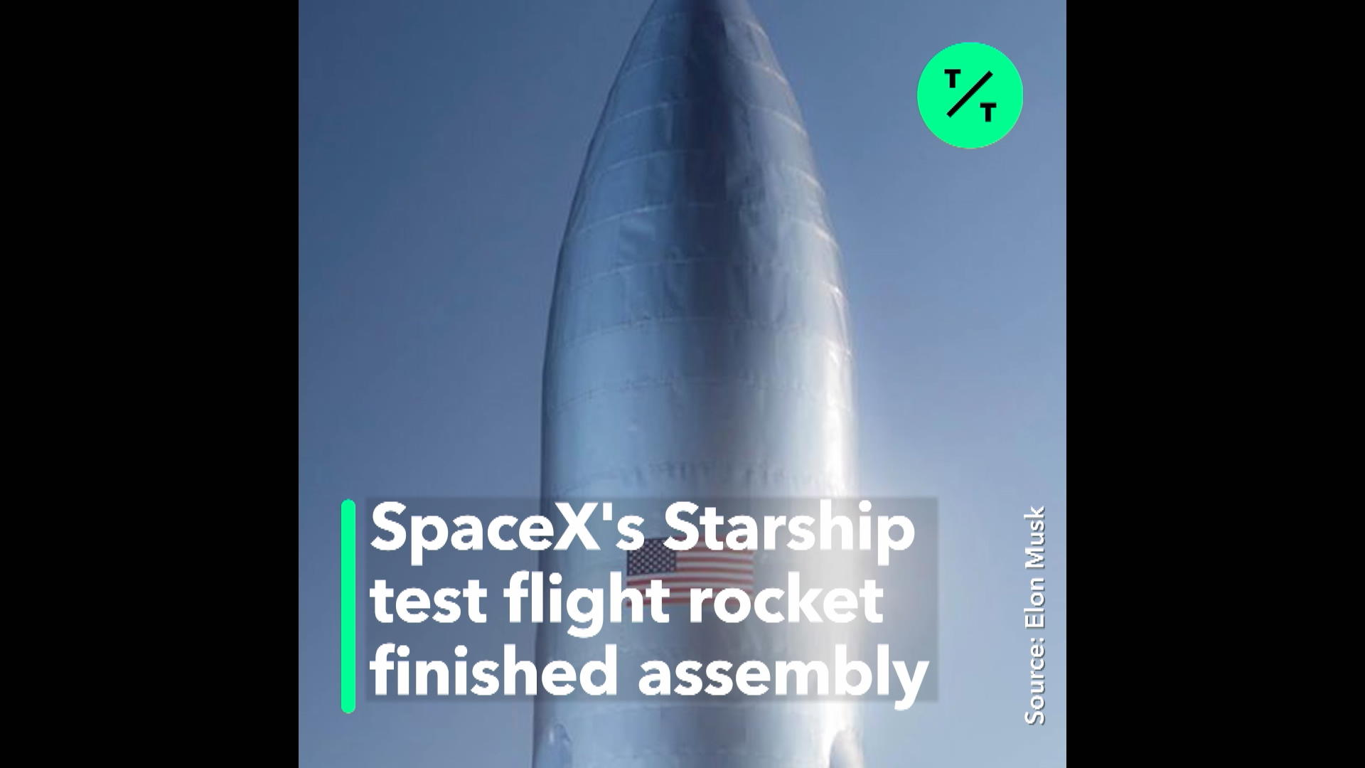 First Pictures of SpaceX Starship
