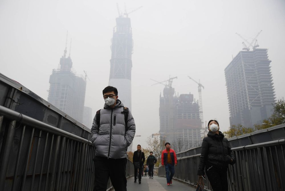 Beijing's Haze Makes a Climate U-Turn Unlikely After Trump
