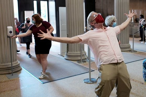 New York Museums Reopen With Masks, Sanitizers and No Crowds