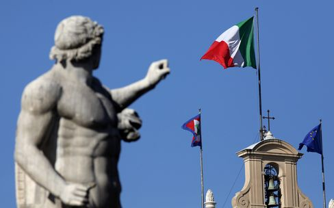 IMF Says No Talks Under Way With Italy on Financing Program