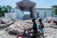Haiti earthquake GETTY sub