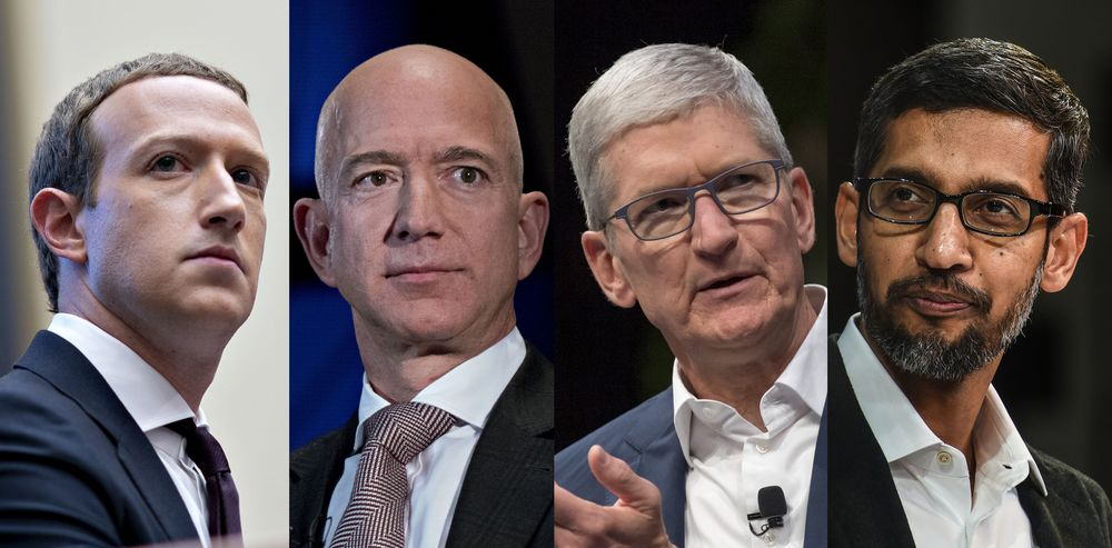 ベゾス氏ら世界のハイテク富豪、資産4兆円余り吹き飛ぶ-株急落で ...