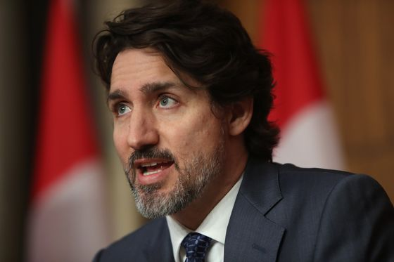 Trudeau Will Add to Record Debt With First Pandemic Budget