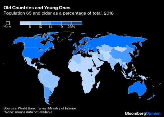 In These Aging Places, Coronavirus Is a Huge Threat