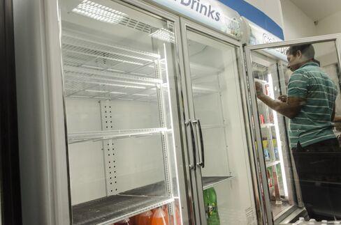 Shortages in Caracas