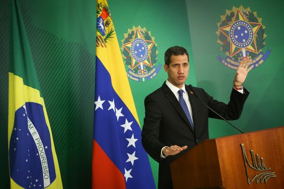 Facing Jail in Caracas, Guaido Travels Across South America