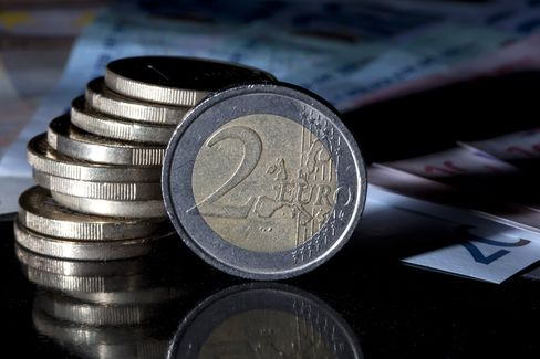 Euro Falls From 1-Week High Versus Dollar Amid ECB Rate-Cut Bets