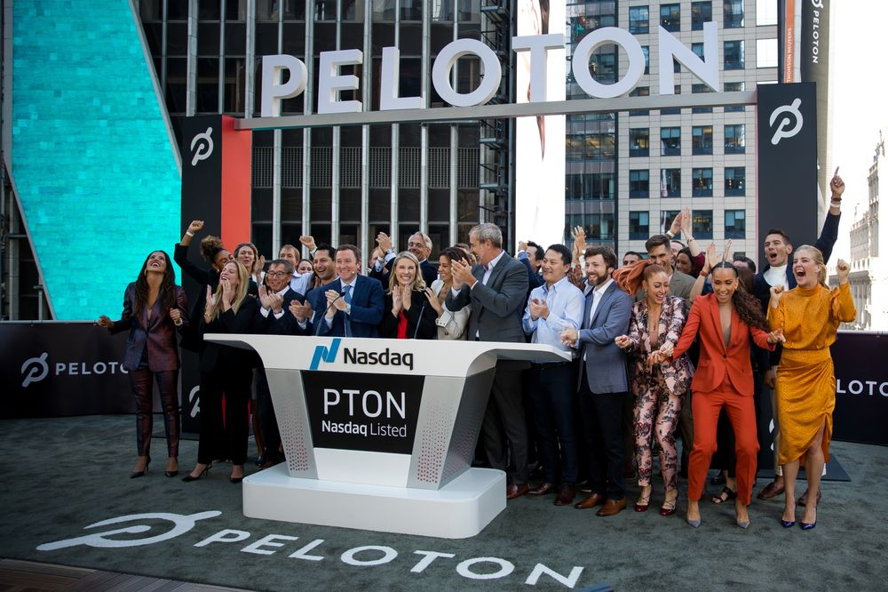 When is peloton ipo