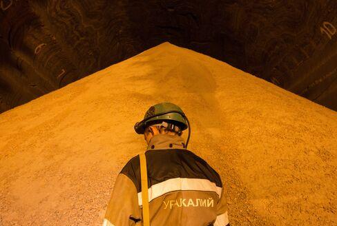 Uralkali Potash Mine