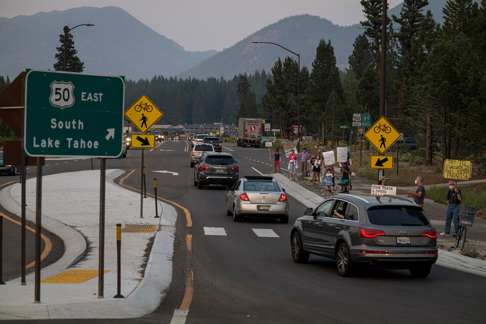Lake Tahoe Locals Protest Overtourism