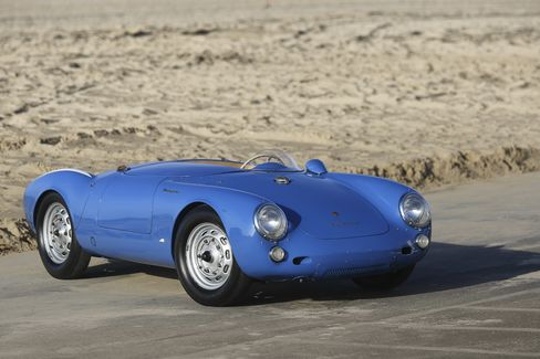 The 1955 Porsche 550 Spider is expected to fetch between $5 million and $6 million.