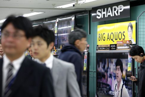 Sharp Shares Fall as Citigroup Cuts Price Estimate