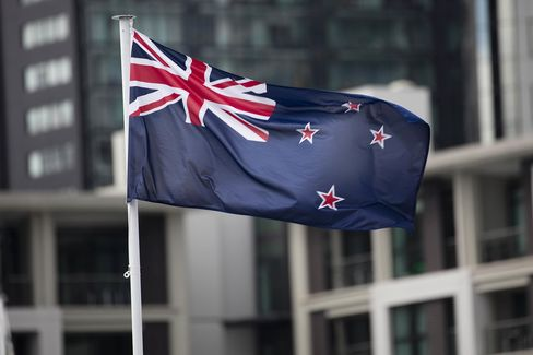 Images Of Existing and Proposed New Zealand Flag Ahead Of Second Flag Referendum