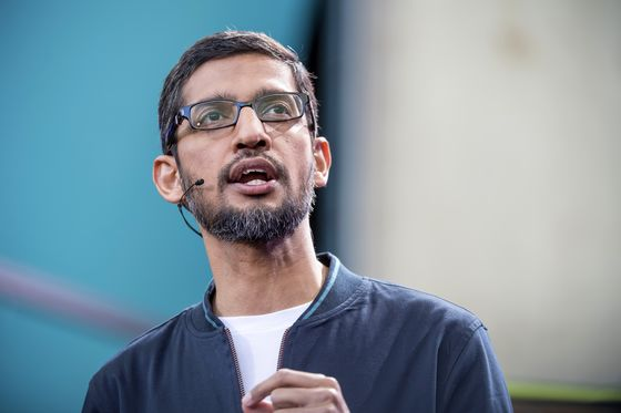 Google's AI Work in China Spurs CEO Sitdown With Pentagon Brass