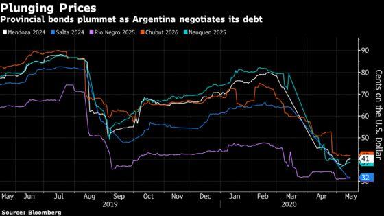 Argentina Provinces Gear Up for Debt Fights After First Default