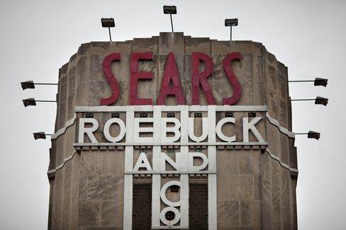Sears Falls After Saying It Will Close as Many as 120 Stores