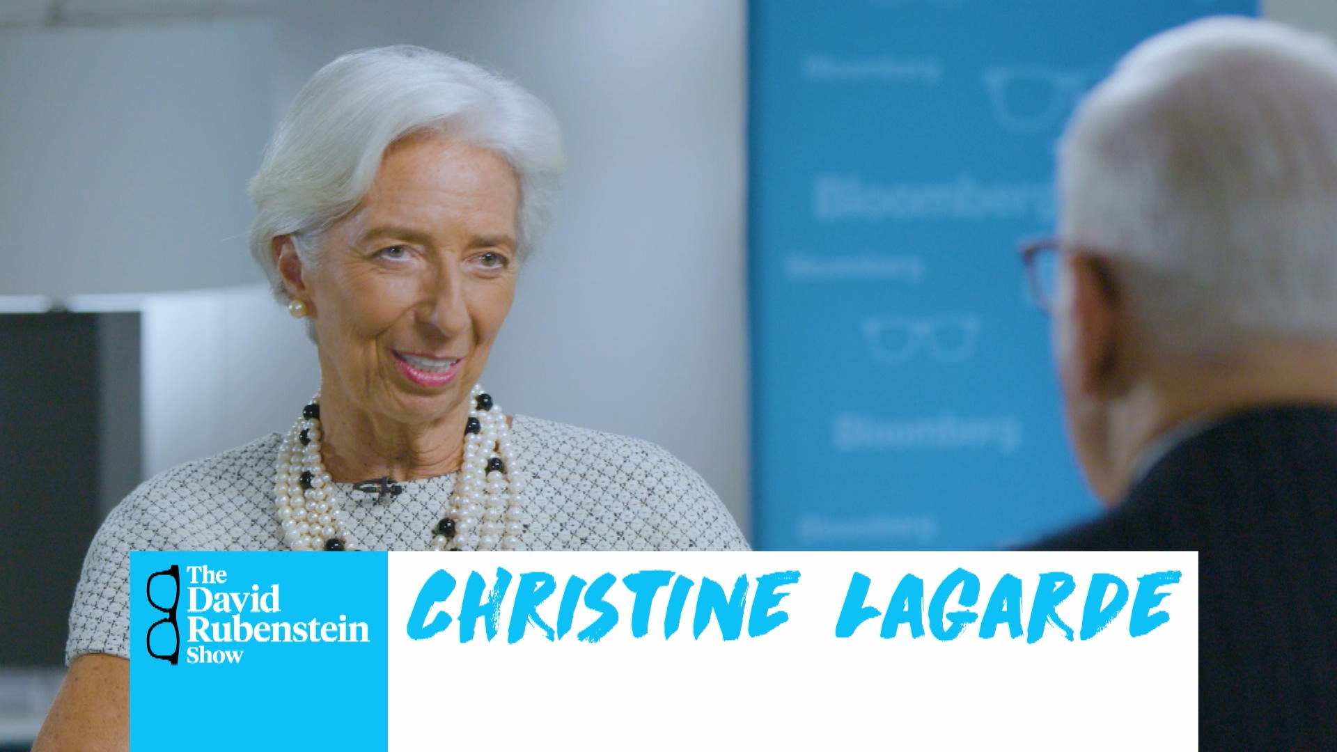 The David Rubenstein Show: Christine Lagarde - Bloomberg
