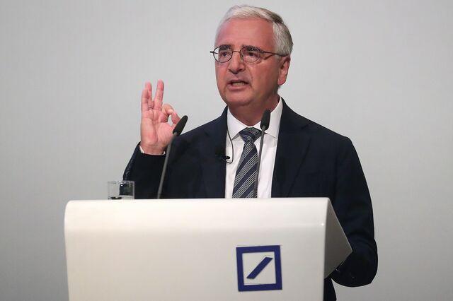 Top Deutsche Bank Investors Focusing Discontent on Chairman