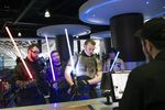 Fans Attend The First Public Screening Of Walt Disney Co.'s 'Star Wars: The Force Awakens' At A Vue Entertainment Ltd. Cinema