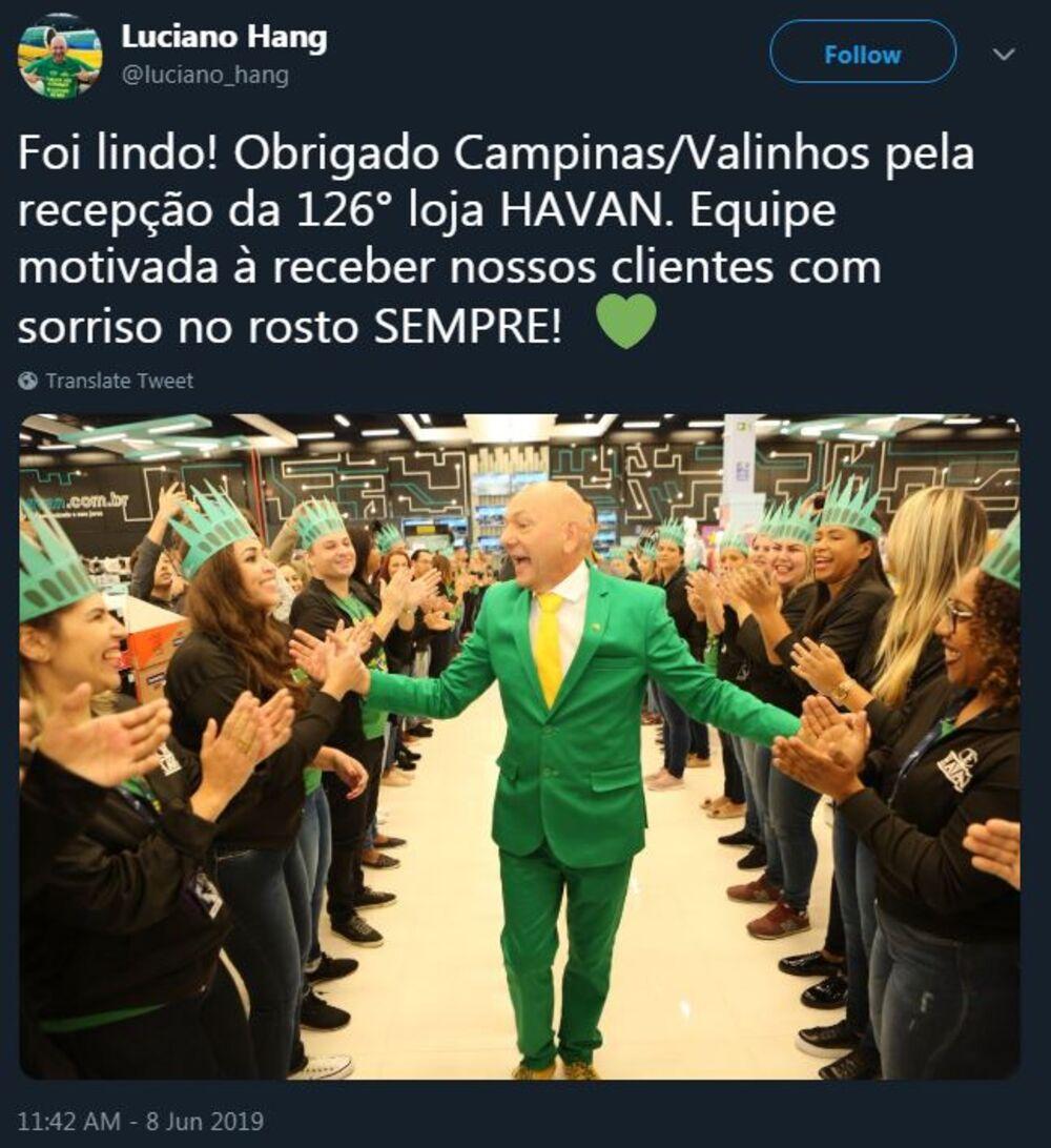 Luciano Hang Is Brazil's Brashest Billionaire - Bloomberg