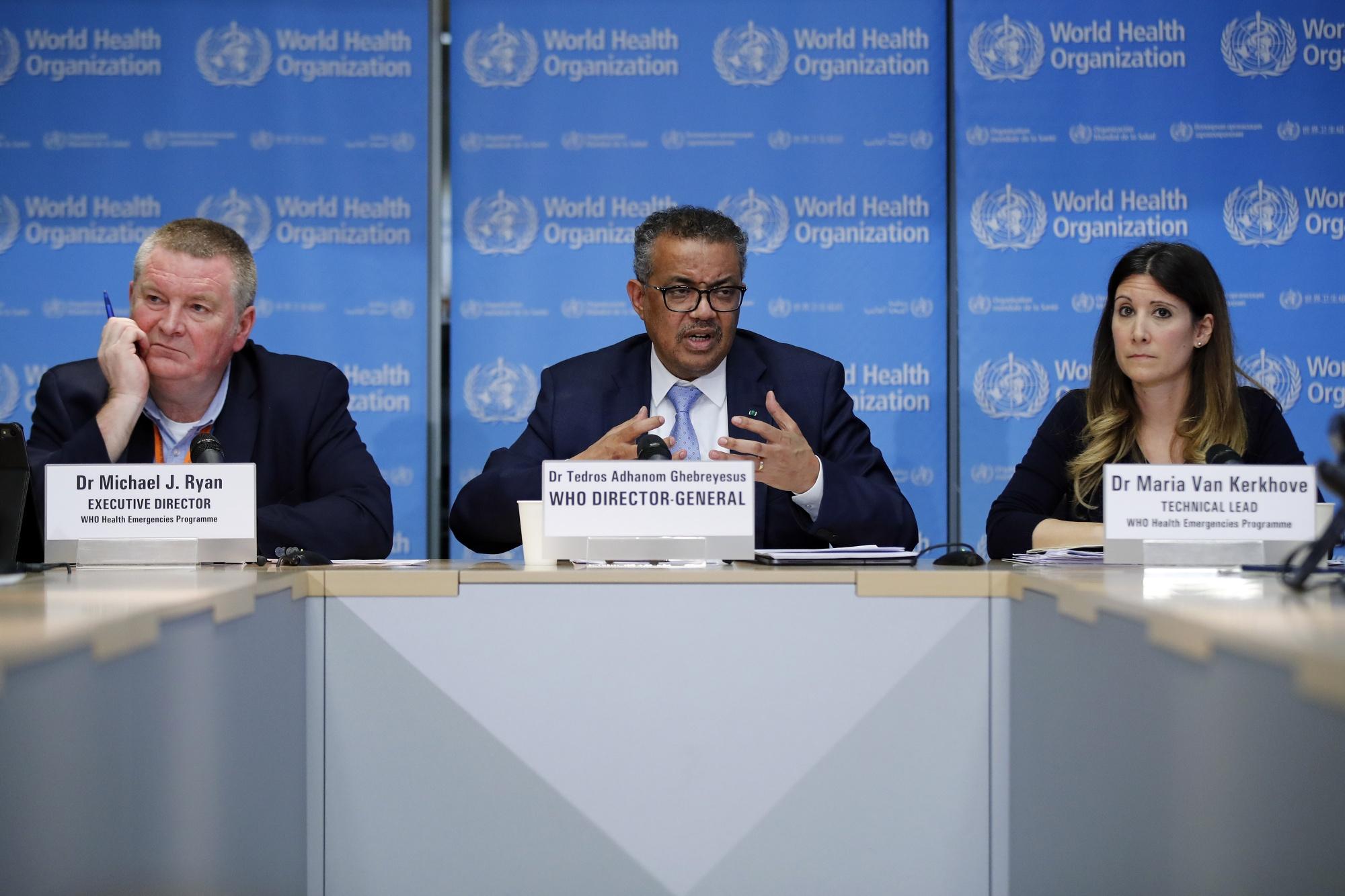 Aktualizacja Światowej Organizacji Zdrowia objętego globalnym łączeniem się wirusami