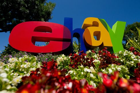 EBay Rises After Report Says July Sales Increased 28 Percent
