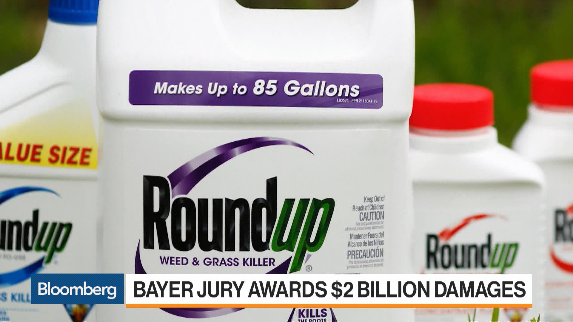 Bayer (BAYN) Lost 3rd Trial Over Roundup Cancer Claims - Bloomberg