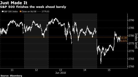 U.S. Stocks End Busy Day Lower on Trade Tensions: Markets Wrap