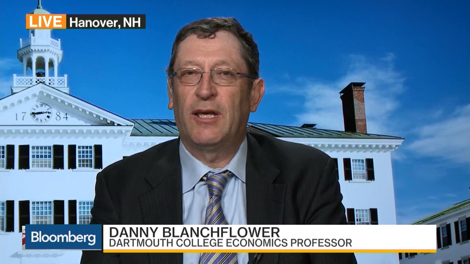 Dartmouth s Blanchflower Sees Brexit Support Tumbling – Bloomberg