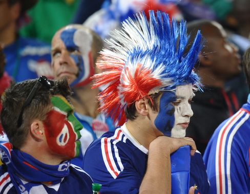France's supporters