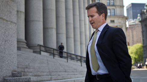 Todd Newman outside federal court in New York, on May 2, 2013.