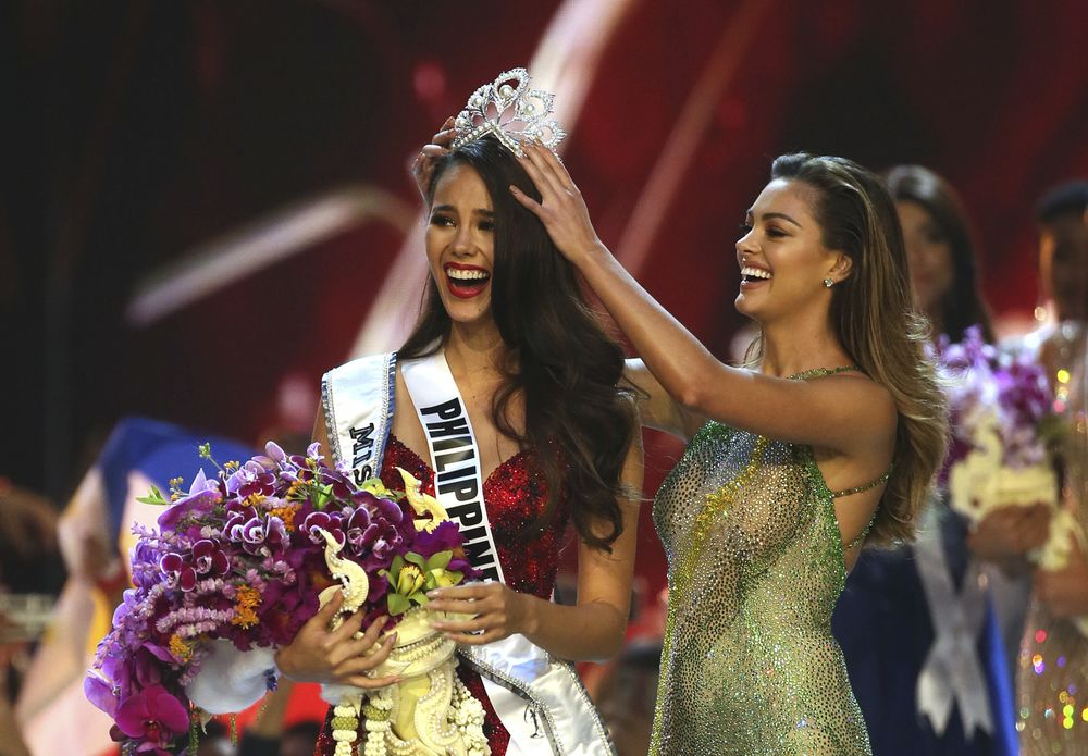 ea75041b1d5f Philippines' Catriona Gray Named Miss Universe 2018 - Bloomberg