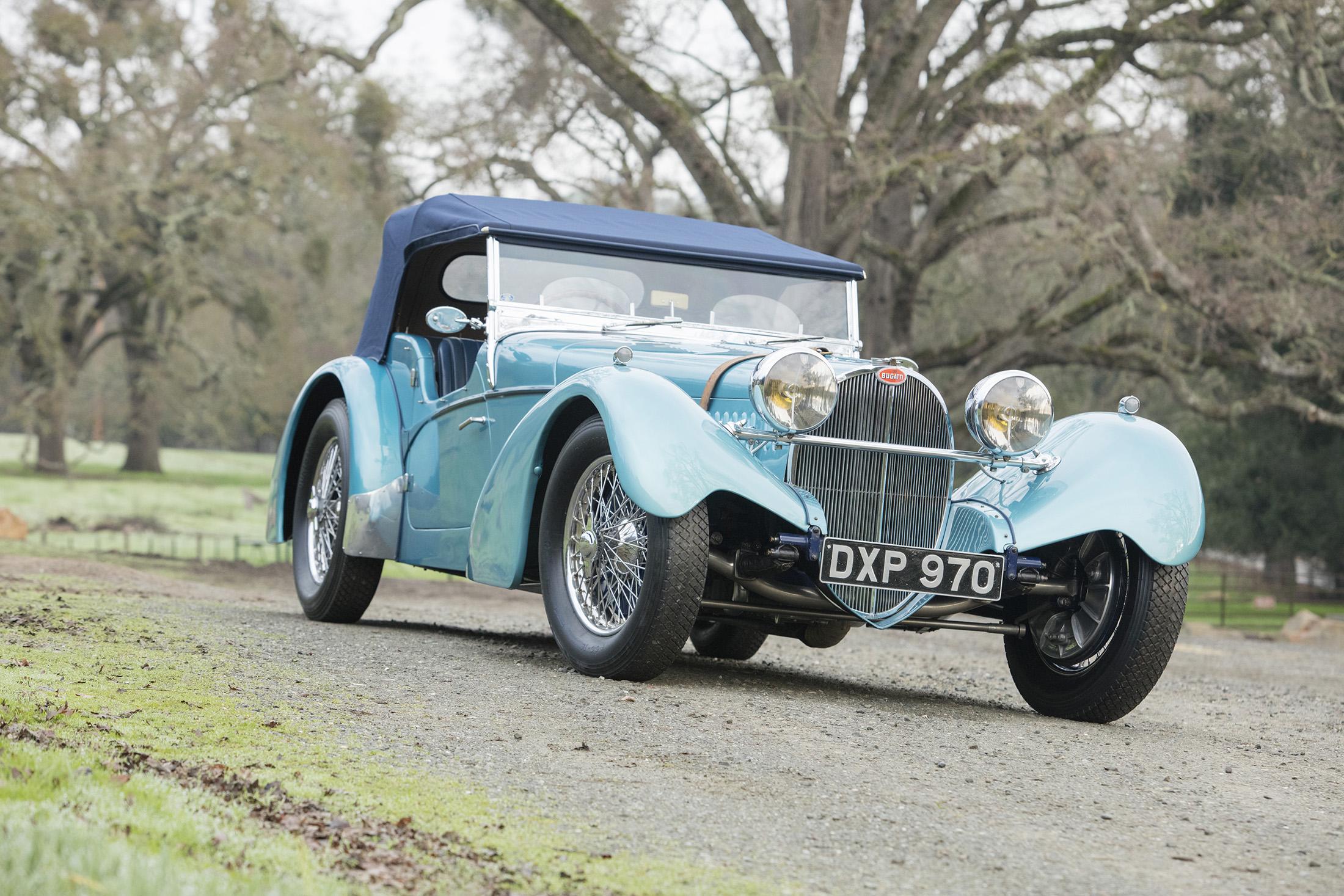 $9,735,000 — 1937 Bugatti Type 57 SC Sports Tourer