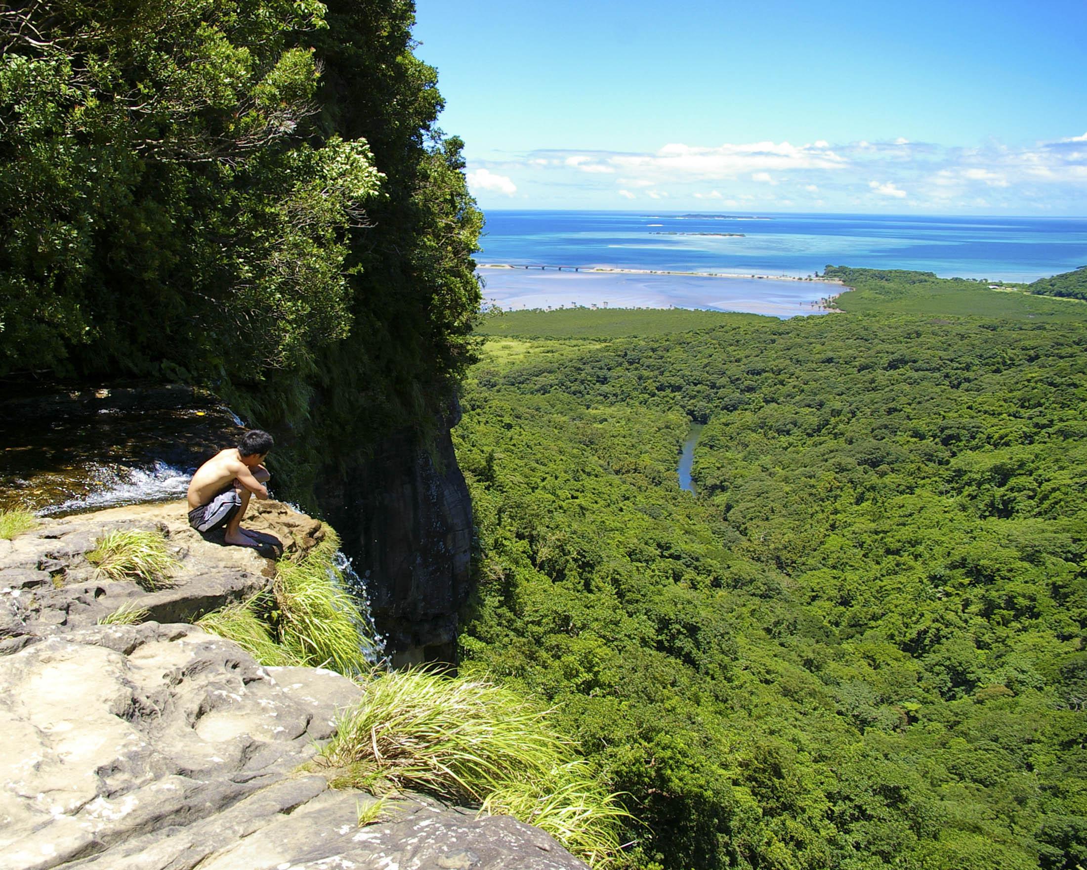 Views from Pinaisaara Waterfall, Iriomote