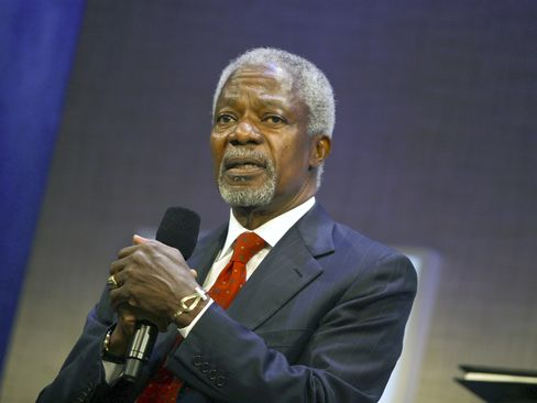 Former United Nations Secretary-General Kofi Annan