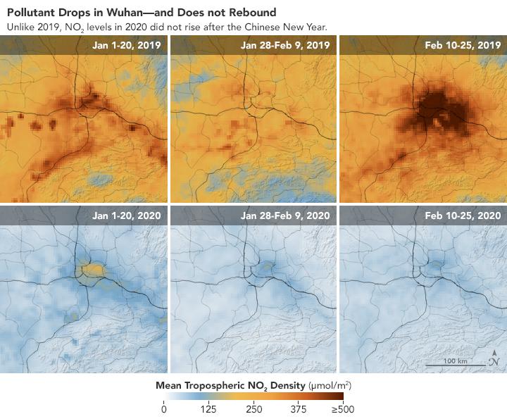 relates to 中国で大気の質が劇的に改善、新型コロナウイルスの思わぬ副産物