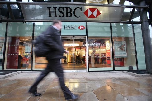 HSBC to Cut 30,000 Jobs by 2013 as Costs Rise