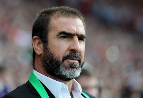 Former Manchester United Soccer Star Eric Cantona