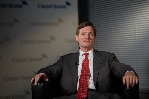 Credit Suisse Chief Executive Officer Brady Dougan