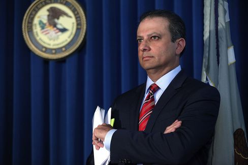 Manhattan U.S. Attorney Preet Bharara.
