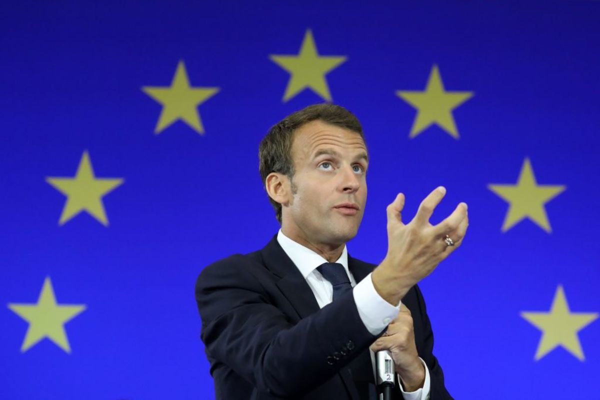Macron Wants to Slam the Door on EU Expansion