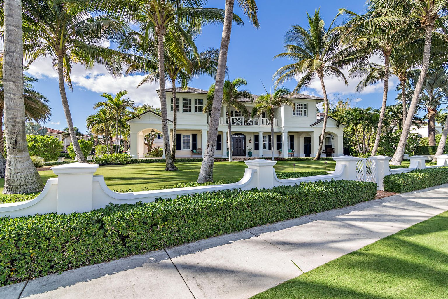 101 Palmetto Lane in West Palm Beach sold for $ 6.1 million.  Sabra Kirkpatrick represented the seller.