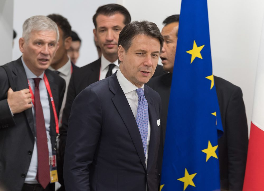 Italian Premier Wants New Europe Chief to Review Budget Rules