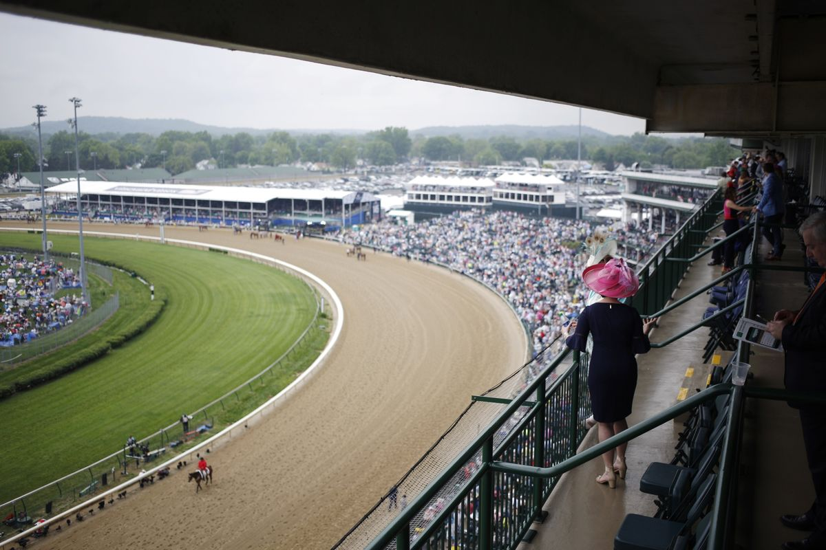 a70894a1f85c Kentucky Derby Ends With Drama After Disqualification - Bloomberg