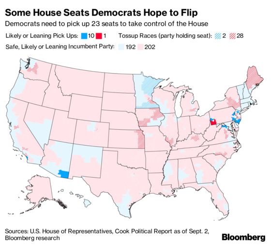 Democratic Wave Is Poised to Breach Washington