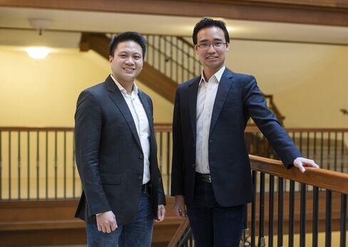 Reynold Wijaya and Kelvin Teo