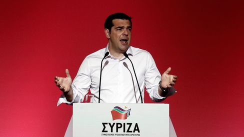 Tsipras confronted rebels within his own party for not backing his deal with creditors, in a showdown that could put Europe's most indebted state on course for snap elections