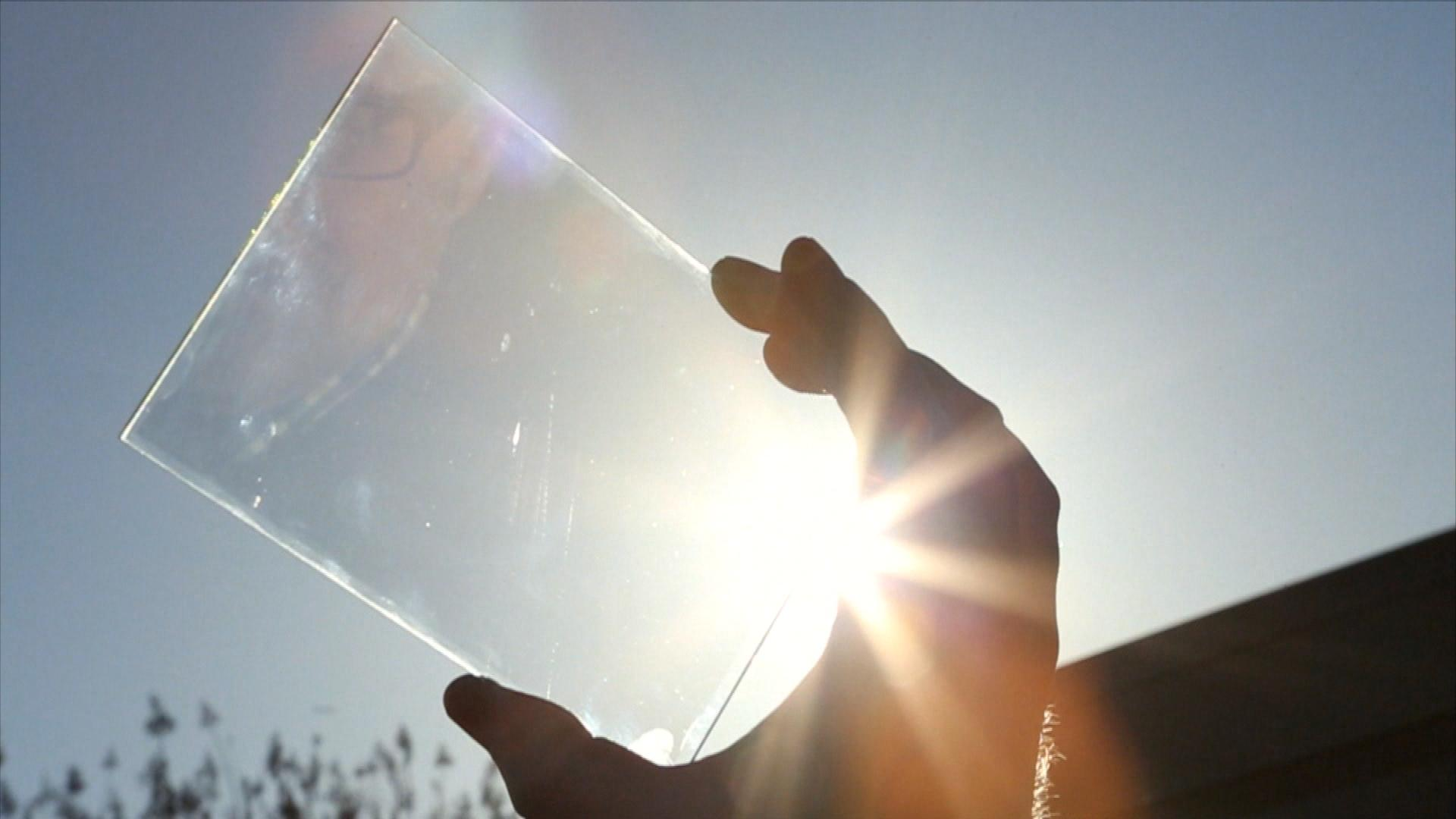 Transparent Solar Panels >> Ubiquitous Energy Invisible Solar Cells Could Power Phones Bloomberg