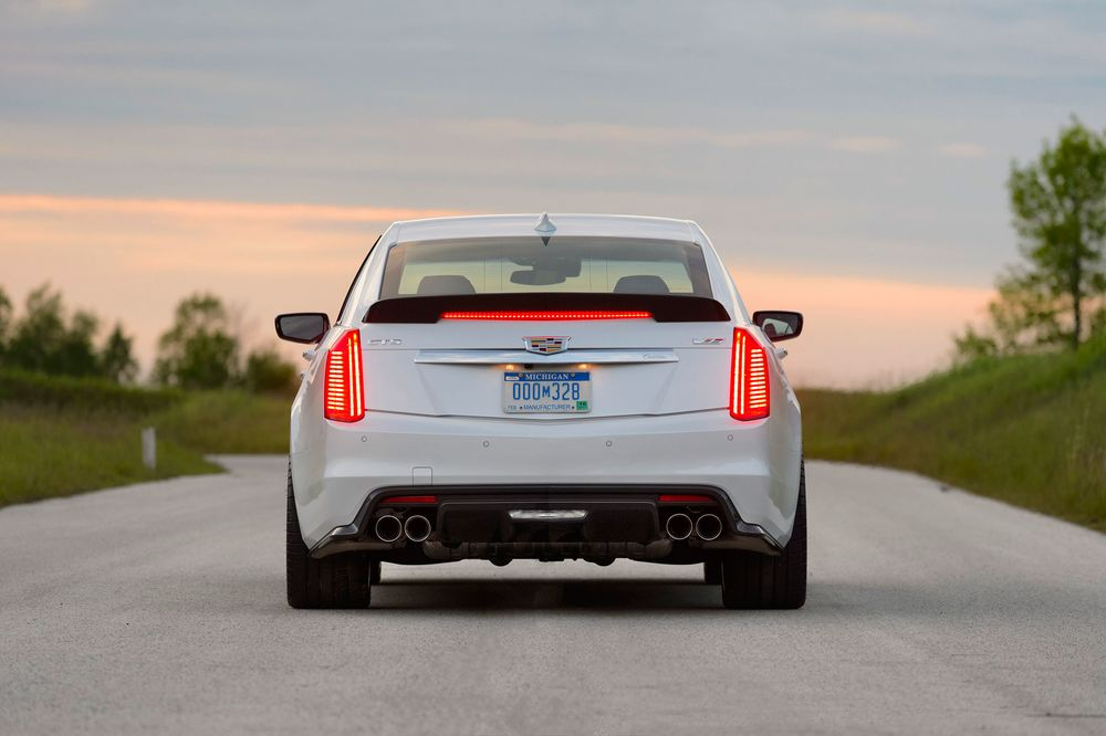 The 2016 Cadillac Cts V Is The Best Sedan America Can Offer Bloomberg