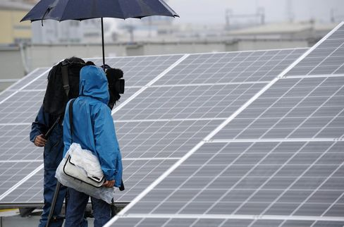 Solar Panel in Japan